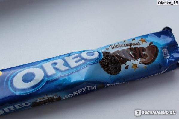 Печенье ОREO шоколадный вкус фото