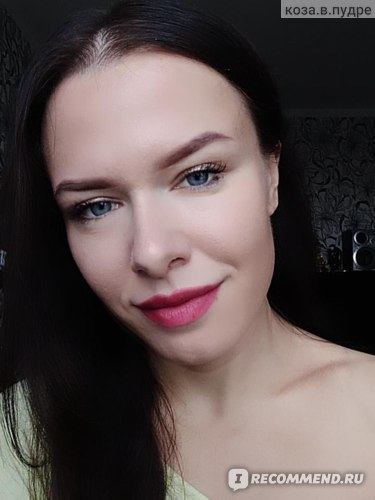 Жидкая матовая помада-мусс Oriflame The one lip sensation фото