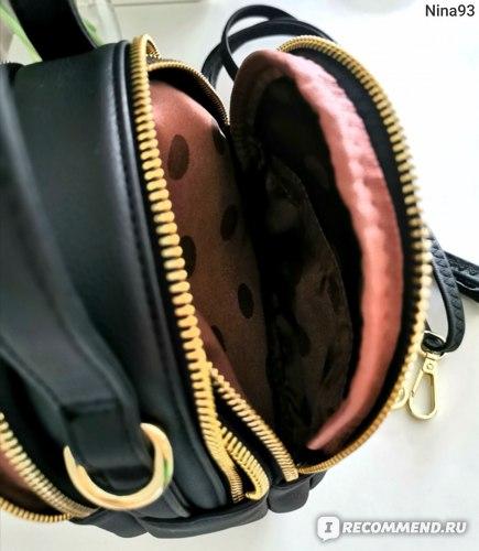 Сумка-рюкзак Aliexpress Mini Backpack Women Casual PU Leather Crossbody Bag For Teenage Girls Multifunctional Female School Backpack Mochila фото