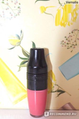 Жидкая губная помада Lancome Matte Shaker фото