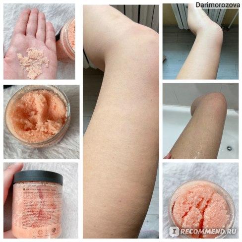 Скраб для тела MIXIT SPA RITUALS Ignis Sugar&Salt Scrub Обновляющий сахарно-солевой с экстрактами манго, ананаса и имбиря фото