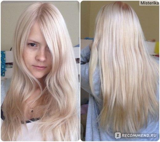 Общая картина волос Спереди / Сзади