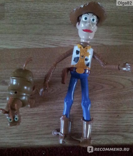 Toy story 3 Sherif Woody Battery Operated фото