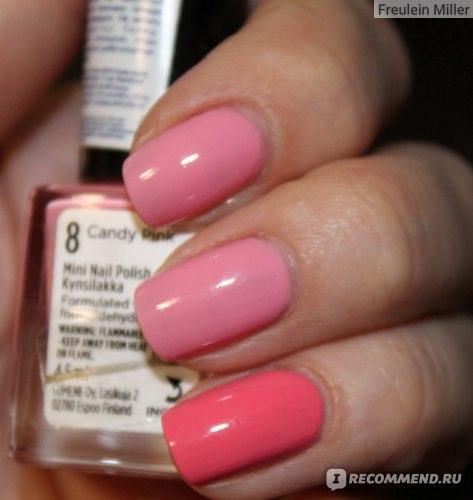 Лак для ногтей Lumene Natural Code фото