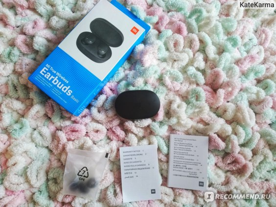 Беспроводные наушники Xiaomi Mi True Wireless Earbuds фото