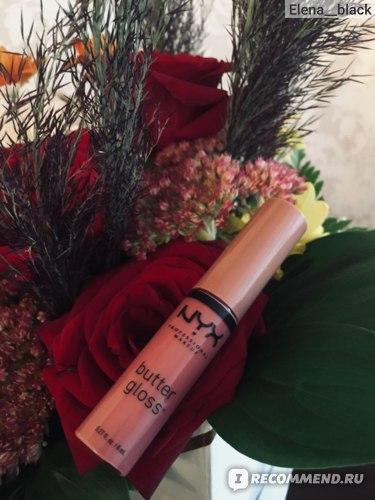 Блеск-бальзам для губ NYX Butter Gloss фото