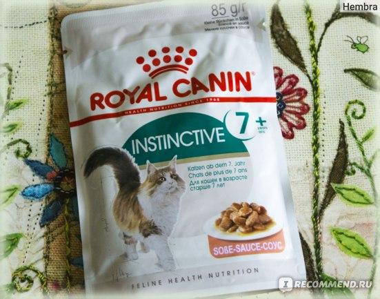 Корм для кошек Royal Canin  INSTINCTIVE +7 фото