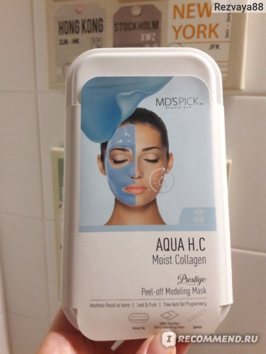 Маска для лица MD`S PICK Aqua H.C Moist Collagen фото