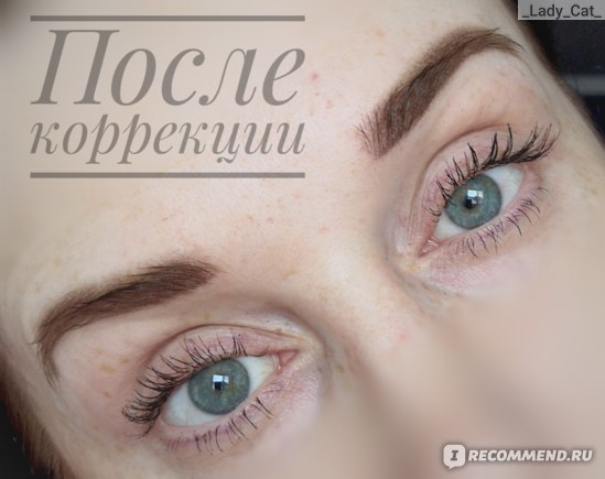 """Татуаж бровей в технике """"Пудровое напыление"""" фото"""