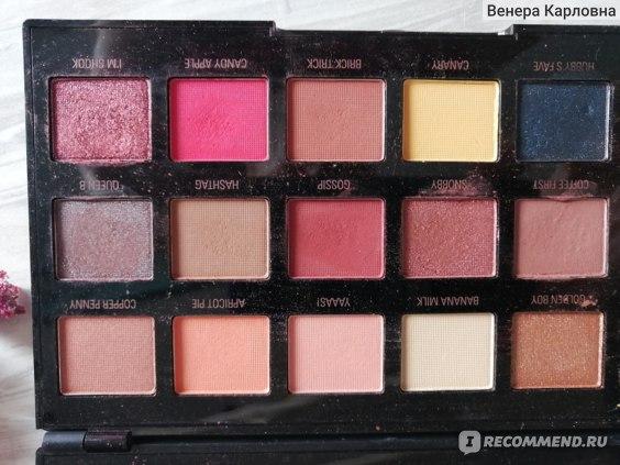 Палетка теней для век Makeup Revolution Revolution X Petra Eyeshadow Palette фото