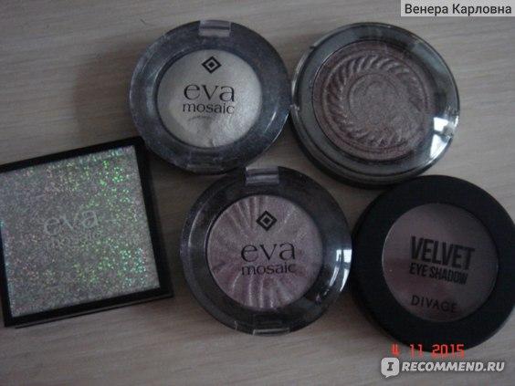 Тени для век Eva Mosaic Aqua Metal фото