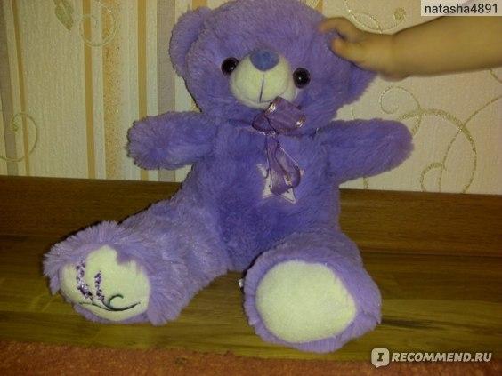 Плюшевый медведь Aliexpress Original Australia Bridestowe Bobbie the lavender heat pack bear purple bear with tags1KG 1PCS фото