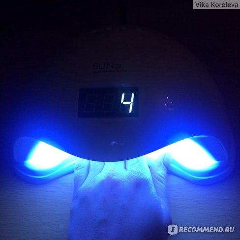 Гибридная лампа для полимеризации гель лака SUN5 UVLED 36 Вт фото