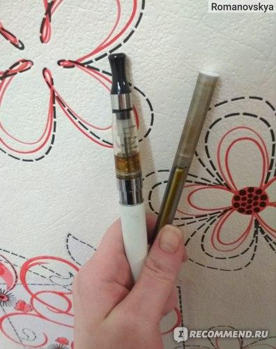 электронная сигарета горчит одноразовая