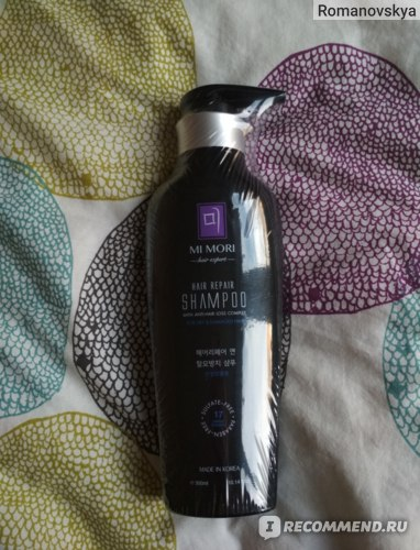 Бессульфатный шампунь Nollam Lab для сухих и поврежденных волос MI MORI