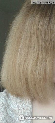 день первый после использования комплекс по уходу за волосами от Ноллам Лаб