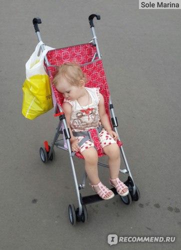 Коляска - трость  Кари Kids Trampulina фото
