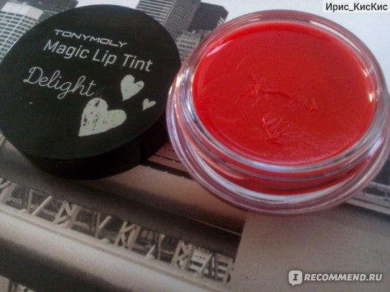 Тинт для губ TONY MOLY Delight Magic Lip Tint фото