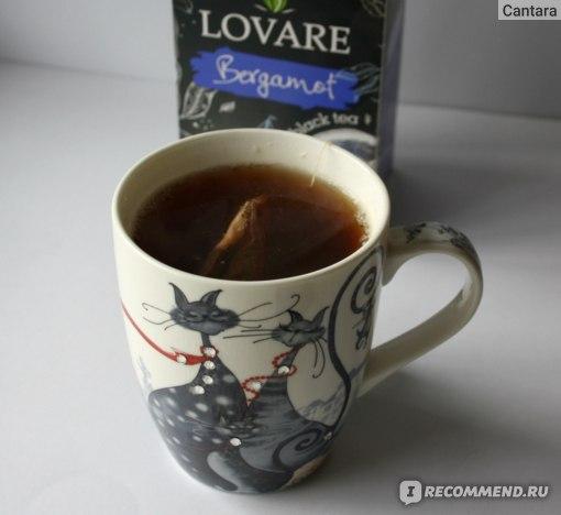 """Чай органический Lovare """"Bergamot & Vanilla"""" с маслом бергамота и ванили"""