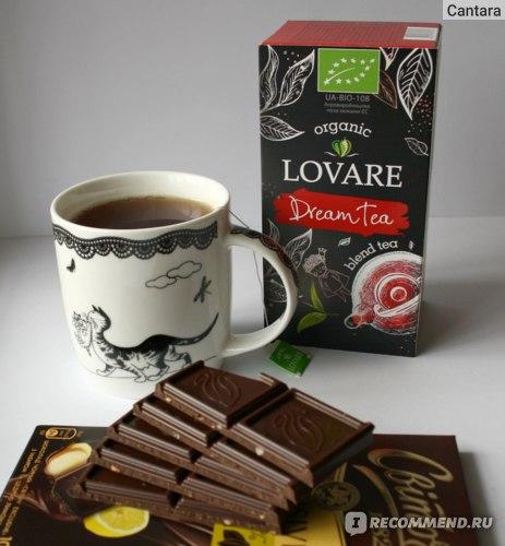 "Чай органический Lovare ""Dream Tea"" фото"