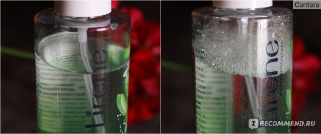 Тоник-спрей Lirene с алоэ и гиалуроновой кислотой