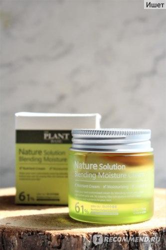 Крем для лица THE PLANT BASE Nature Solution Blending Moisture Cream  фото