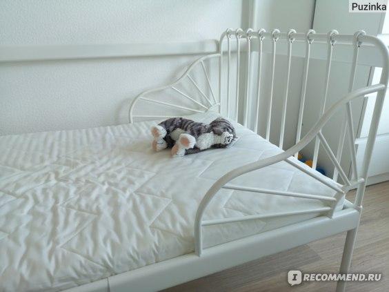 Кровать IKEA Миннен фото