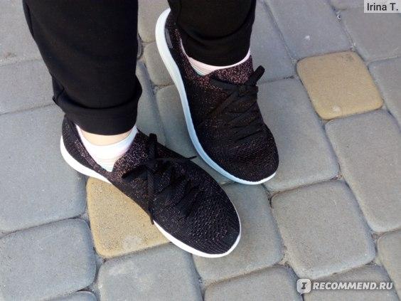 Женские кроссовки Skechers ULTRA FLEX 2.0 черный/золотой