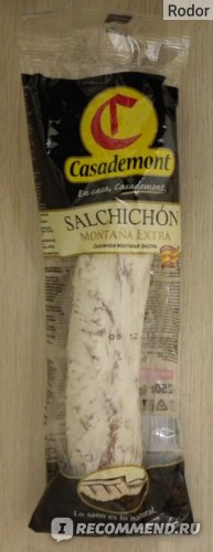 Casademont Salchichon Montana Extra