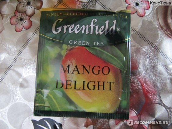Чай  Гринфилд (Greenfield) MANGO DELIGHT фото