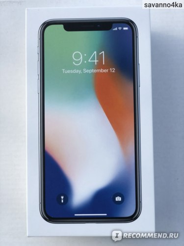 Apple iPhone X Silver 256 мб