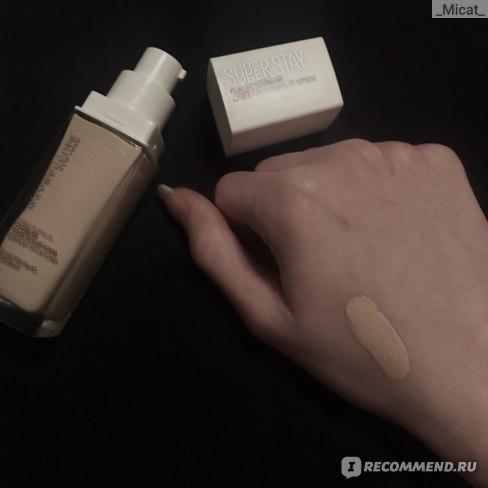 Тональный крем MAYBELLINE SuperStay 24H  фото