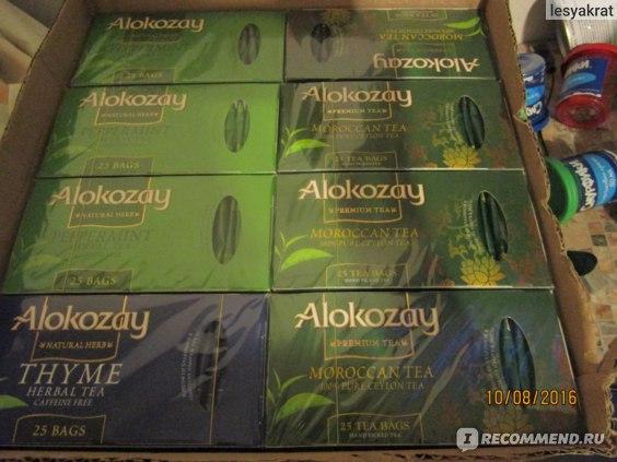 Чай Alokozay Травяной с чабрецом фото