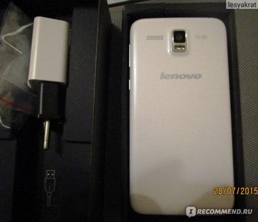 Lenovo A806 внешний вид
