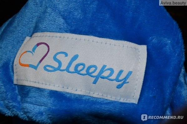 Плед Sleepy с рукавами фото