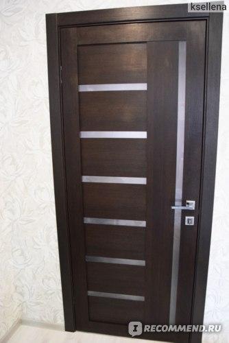 Межкомнатные двери венге кантри