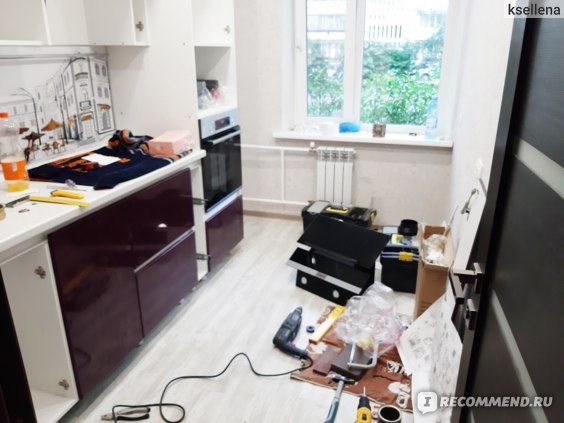 Кухни Томск сборка