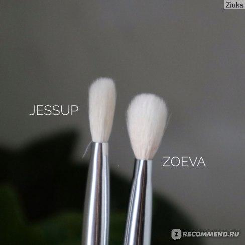 Набор кистей для макияжа глаз Jessup 6 шт фото