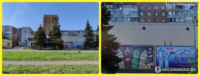 Справа фото -это увеличение снимка, который находится слева