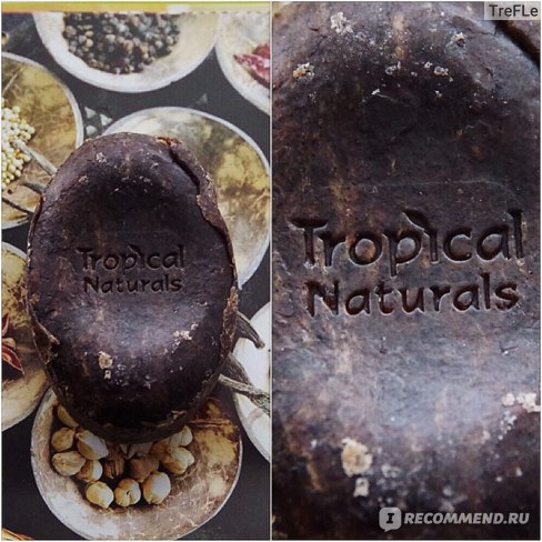 Мыло  Dudu-Osun Африканское чёрное мыло фото