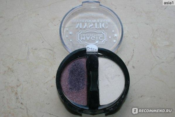 Тени для век Bell Mystic eyeshadow & base Magic collection Волшебное сияние фото