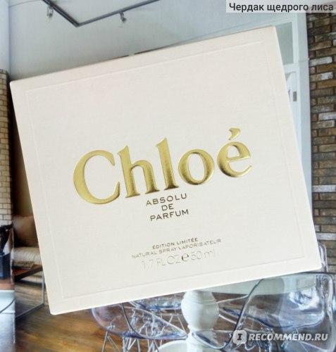 Chloé Absolu de Parfum фото