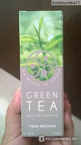 """Ив Роше / Yves Rocher Утро в саду """"Зеленый чай"""" фото"""
