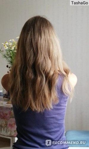 Ампулы для волос Kaaral Purify Restructure - Восстанавливающий лосьон, результат