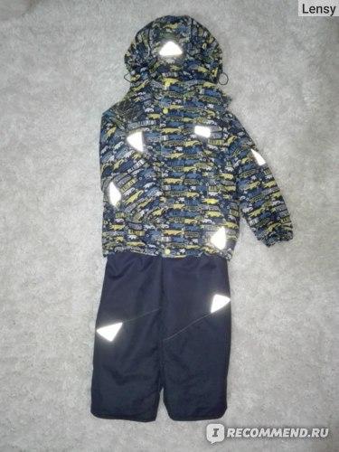 """Комплект (куртка+ п/комбинезон) Uki Kids """"Крокодильчики""""  фото"""
