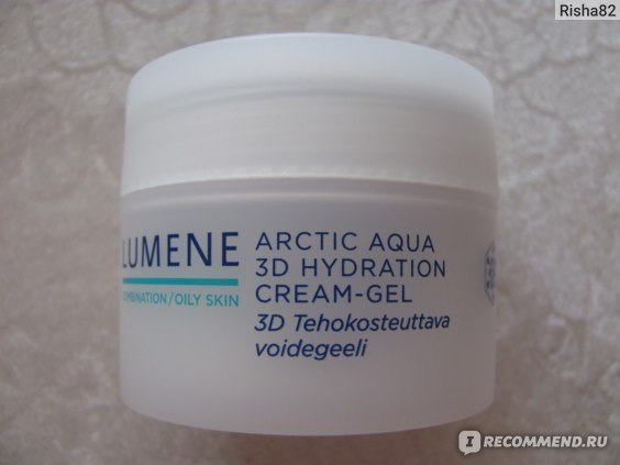 Крем-гель для лица Lumene Arctic aqua 3D Hydration Cream-gel for oily/combination skin фото