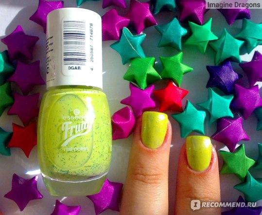 Лак для ногтей Essence Fruity фото