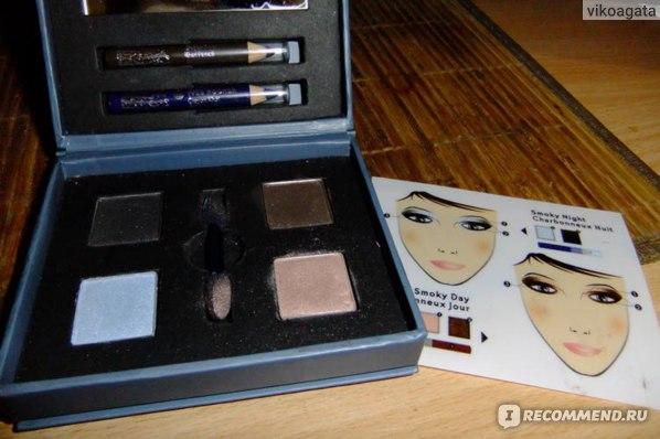 """Палитра для макияжа Ив Роше / Yves Rocher для макияжа """"Smoky eyes"""" фото"""