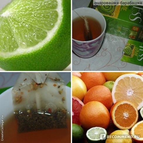 Чай  Tess Green Tea Lime фото