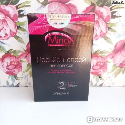 Лосьон-спрей MinoX против выпадения волос (для женщин) фото